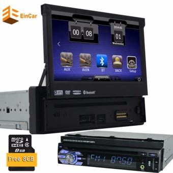 "USB SD CD VCD Headunit Bluetooth 1 din In Dash Audio Monitor Autoradio Car Stereo Video Radio Receiver Car DVD Player Touchscreen 7"" BT Sub AMP Digital TV Tuner - intl"