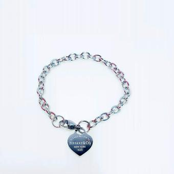 Valentino Collection Bracelet Tiffany heart silver