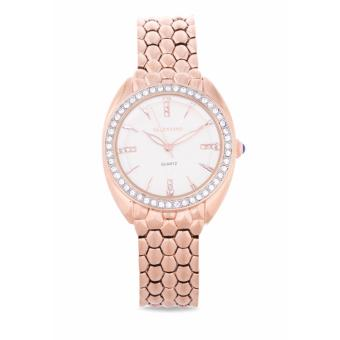 Valentino Rose Gold Fashion Metal - Alloy Women'S Watch 20121971-Rose