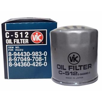 VIC Oil Filter C-512 for Isuzu Crosswind / Fuego / XUV / Hi-Lander