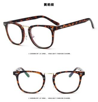 Vintage Men Eyeglass Frame Glasses Retro Spectacles Clear LensEyewear For Men - 5