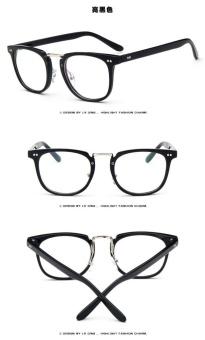 Vintage Men Eyeglass Frame Glasses Retro Spectacles Clear LensEyewear For Men - 3