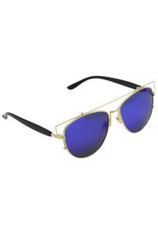 Vococal Retro Vintage Sunglasses (Blue) - picture 2