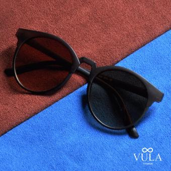 Vula 272 Queen's Round Browline Sunglasses Shades (Brown) Price Philippines