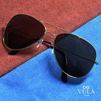 Vula 3026 Alex Aviator Unisex Sunglasses Shades(Brown) Price Philippines