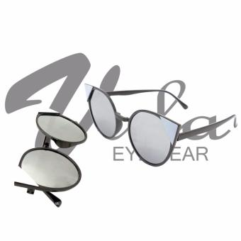 Vula 334 Morgan Cat Eye Sunglasses Shades (White)