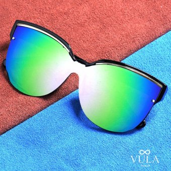 Vula Summer Butterfly Womens Sunglasses Shades Eyeglasses 8702 (Multicolor 2)
