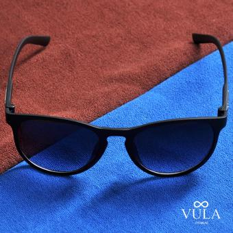 Vula Summer Unisex Casual Sunglasses Shades Eyeglasses JL1143 (Black) - 2