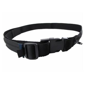 Waist Money Belt Wallet (Black)