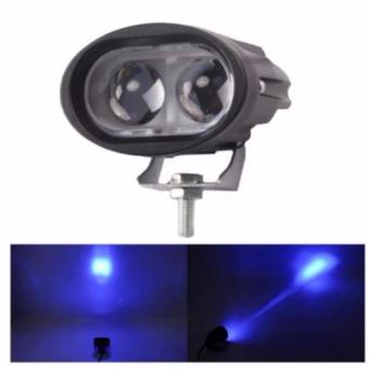 Wall E 4D 20W Motorcycle Led Fog Driving work Light(WHITE)