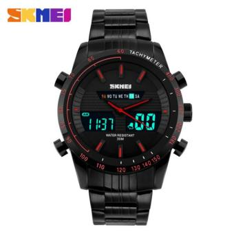Watch Mens Date Day LED Display Luxury Sport Watches Digital Military Men's Quartz Wrist watch Relogio Masculino - intl