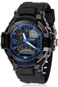 Waterproof Digital LED Multi-function Military Sports Watch - Blue