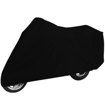 Waterproof Motorcycle Cover (Black)