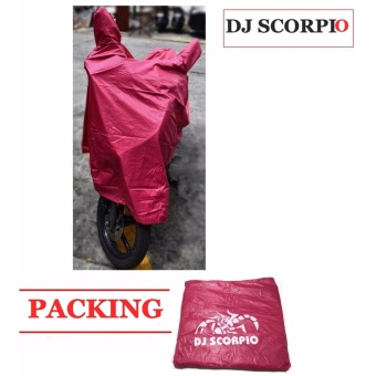 Waterproof Motorcycle Cover (L-RED) Price Philippines