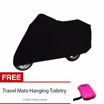 Waterproof Motorcycle Cover with free Travel Mate Hanging ToiletryKit Bag