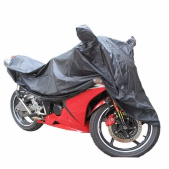 Waterproof Motorcycle Cover with Side Mirror Pocket for CBR150(Black) Price Philippines