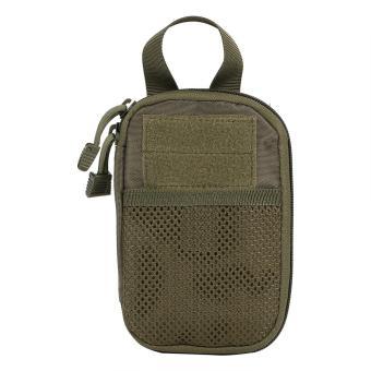 Waterproof Pouch Cellphone Pouch Tool Waist Bag(Green) - intl