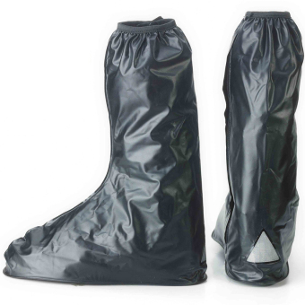 Waterproof Reuseable Motorcycle Rain Boots (X-Large) Price Philippines