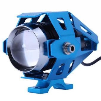 Wawawei U5 LED Motorcycle Head Light Driving Spot Fog Lamp 125W3000LM (Blue)