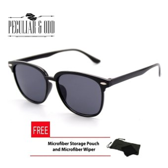Wayfarer Oversized Classic Black Lens Black Frame_625 Phantos Optical Frame Replaceable Lens - Unisex