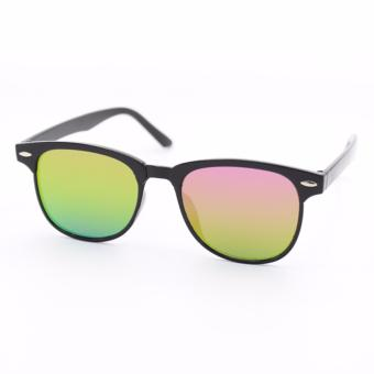Wayfarer OverSized Flash Lenses Multicolor_721 Flash Straight Design__Unisex - 3