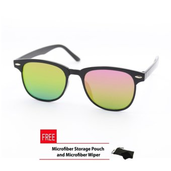 Wayfarer OverSized Flash Lenses Multicolor_721 Flash Straight Design__Unisex