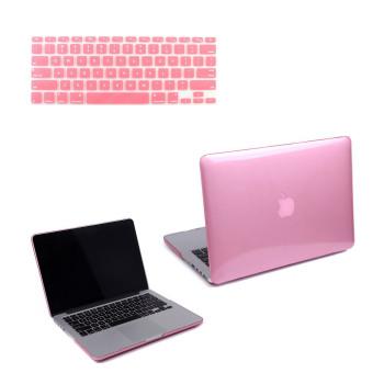 "Welink 3 in 1 Apple MacBook Pro 13"" Case / Clear Crystal Case + Anti"