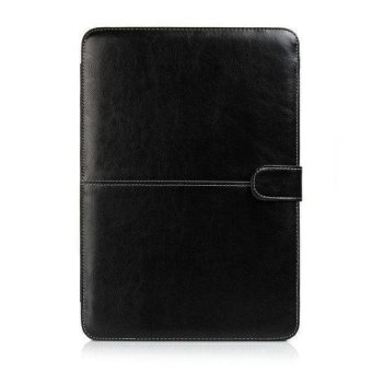 "Welink PU Leather Case For Apple Macbook Air 11"" (Black) - 3"