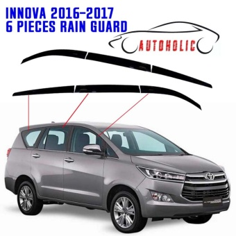 Window Visor for Toyota Innova 2016 to 2017