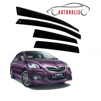 Window Visor for Toyota Vios 2008 to 2012