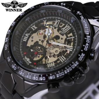 Winner Men Male Watch Winner Brand Mechanical Watch Stainless Steel Automatic Stylish Classic Skeleton Wrist Watches - intl