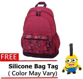 Winpard 1963 Backpack (Mauve) with FREE Bag Tag