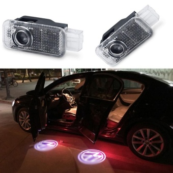 Wireless 3D LED Welcome Logo Car Door Laser Light Projector Lamp For VW - intl
