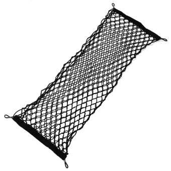 With Mounting Screw Envelope Style Trunk Cargo Net for HyundaiSolaris Verna Ix35 I30 Tucson Elantra Santa Fe