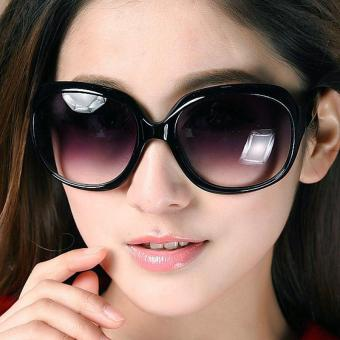 Women Girls Handsome Sun Glasses Big Lens Sunglasses - intl