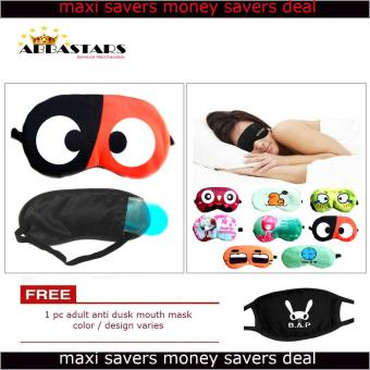 Women's Assorted Sleep Eye Mask with Cooling Warming Pad for Travel