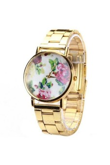 Women's Gold Stainless Sl Strap Watch - picture 2