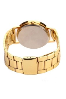 Women's Gold Stainless Sl Strap Watch