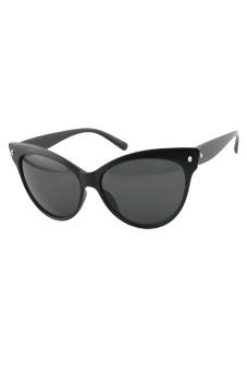 Women's Vintage Sunglasses (Black)