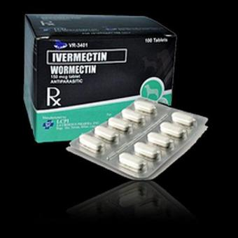 Wormectin Ivermectin Tablets For Dogs Sleeve of 10