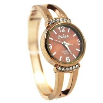 WOW Fuhua Grace Rose Gold Bangle Watch F450