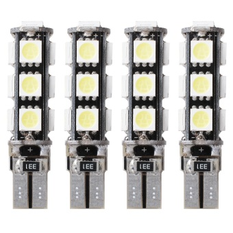 XCSOURCE 4X Car T10 13SMD 5050 LED Light bulb Lamp White W5W 158Canbus Side width MA132