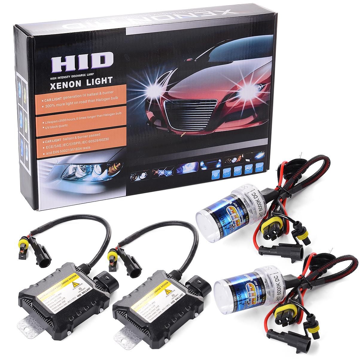 ... XCSOURCE 55W HID Xenon Light Headlight Lamp Conversion Kit H7 6000K Replacement Bulb MA98 ...
