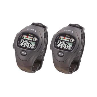 Xinjia Kid's LED Water Resistant Sports Watch Unisex Plastic Strap XJ-663 SET OF 2