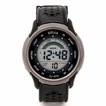 Xinjia Men's Digital Waterproof Sports Watch Silver XJ-815