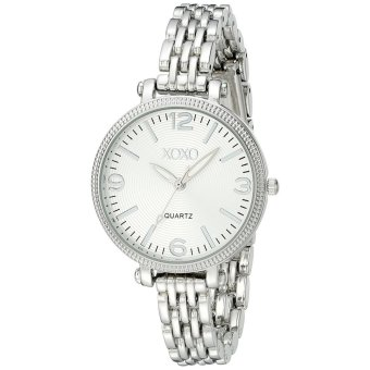 XOXO Women's Silver-Tone Bracelet Watch XO5753