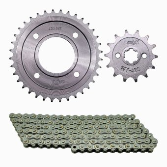 XRM/WAVE 420X14TX34TX110L Osaki Sprocket and Chain Set