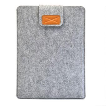 YBC 15 inch Soft Sleeve Felt Bag Anti-scratch for Macbook Laptop Tablet - intl