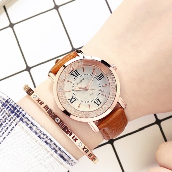 Yeguang fashion crystal waterproof New style women's watch