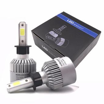 YG Quality Car LED Light H4 Headlight Hi-Lo beam Conversion 8000LM 80W COB Chip 6500K White Bulbs Auto LED lamp 12V